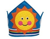 Rainbow Sunshine Crown