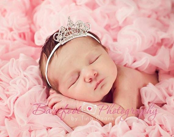 Baby Headband Baby Tiara Headband Clear Infant Tiara Baby