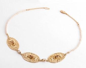 Statement wedding necklace, Statement necklace, Wedding necklace, Bridal statement necklace, Bridal necklace, Bridal bib necklace