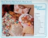 1975 PILLOWS Creative PATTERNS CRAFT Book