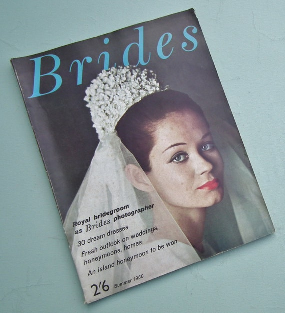 Vintage Brides Magazine Summer 1960 Vintage 50s 60s Weddings