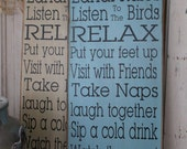 Lanai Rules Sign Deck, Patio, Porch, Backyard, Gazebo, Backyard Rules  primitive Typography Word Art Sign perfect Mothers day gift