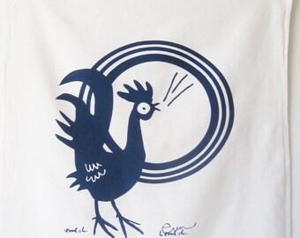Tea Towel Rooster