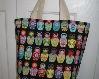 Sewing Patterns, PDF Pattern, Tote Bag, Purse, Tutorial, Beach Bag, Easy, Reusable Market Bag, Quilted Grocery,  Large and Small Bag Pattern