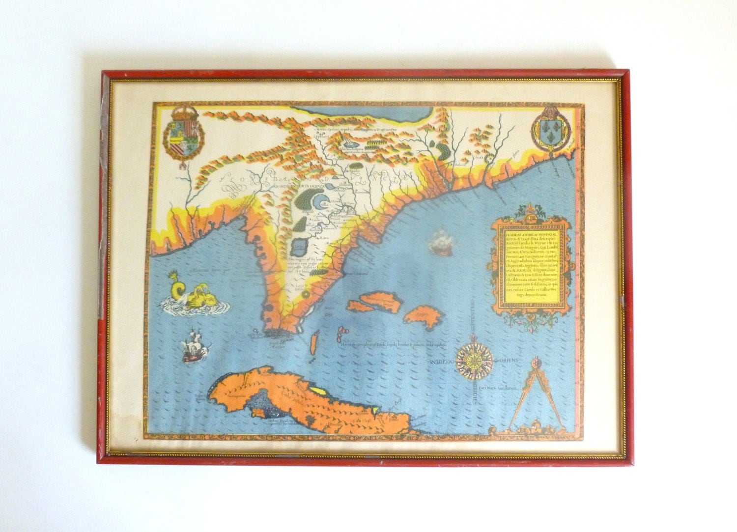 Mid Century Cuba Florida Reproduction Of An Old World