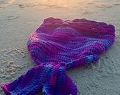 Mermaid Blanket Crochet Pattern