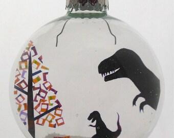 T. Rex-Mas Christmas Holiday Ornament