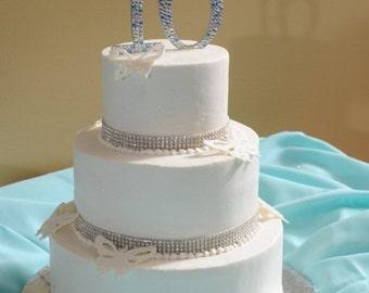 Swarovski Crystal Sweet 16 Cake Topper