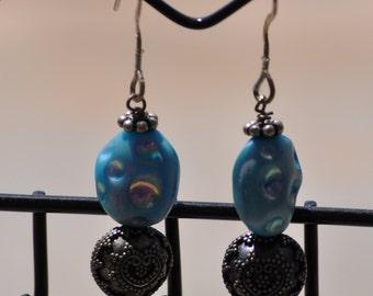 Moon Rock Earrings