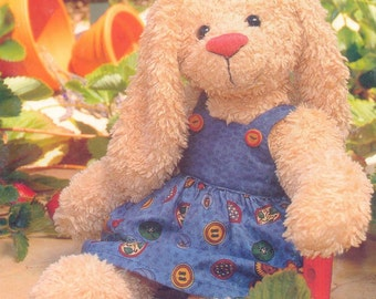 Teddy Bear Rabbit PDF Sewing Pattern - Rowena