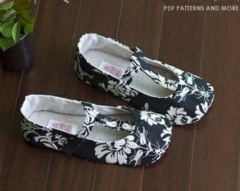 no 343 Sabrina Women's T Strap Shoe! PDF Pattern