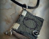 Ouroboros Mini Book  Necklace  by Dryw on Etsy