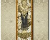 White Tara - Fine Art Print on heavy Cotton Canvas - unframed