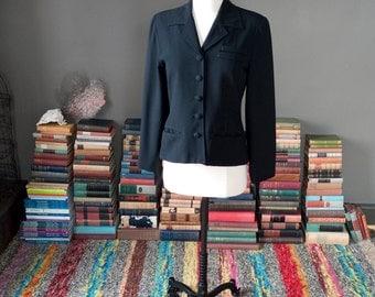 Vintage basic BLACK classic BLAZER jacket