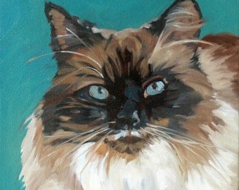 Tipper the Cat Original Fine Art Print
