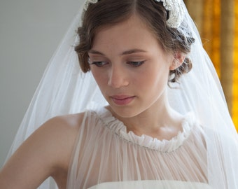 Wedding Headpiece And Veil
