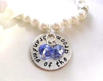 Grandma of the Groom Pearl Bracelet, Pearl Bracelet, Bridal Bracelet, Grandma of the Groom