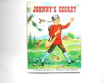 Johnny's Secret, a Vintage Children's Book, Johnny Appleseed, 1975