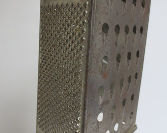 Repurposed Vintage Hanging Light Fixture from Cheese Grater