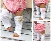 Baby Girl Pink Lace Bloomers, Diaper Cover, Ruffle Bottoms / Butt. Baby's 1st Birthday Outfit Cake Smash. Coming Home Outfit, Valentines Day