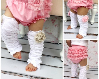 Baby Girl Pink Lace Bloomers, Diaper Cover, Ruffle Bottoms / Butt. Baby's 1st Birthday Outfit Cake Smash. Coming Home Outfit, Summer  July
