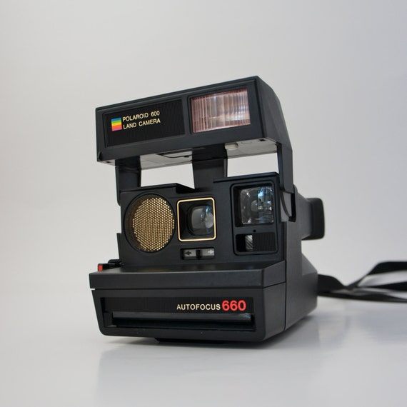 polaroid sun autofocus 660 land camera 600 film. Black Bedroom Furniture Sets. Home Design Ideas