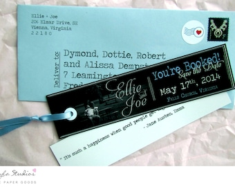 Save the Date Bookmark - SAMPLE