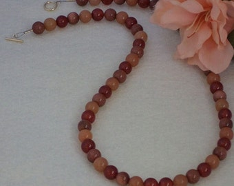 A Variety Of Gemstones In Beaded Necklace  FREE SHIPPING