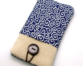 iPhone sleeve, iPhone pouch, Samsung Galaxy S3, S4, Galaxy note, cell phone, ipod classic touch sleeve - Cloud pattern