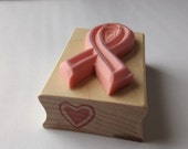 Hand Carved Cancer Ribbon 02