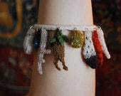 care of magical creatures charm bracelet 1 KNITTING PATTERN