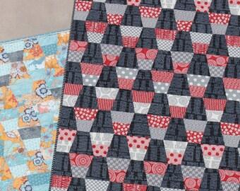 TEACUPS Quilt Pattern by Jaybird Quilts