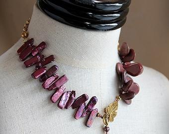 PRINCESS ALIX Vintage Jewelry Repurposed Pearl by