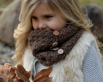 CROCHET PATTERN-Orylean Cowl (Adult, Child, Toddler sizes)
