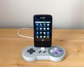 Super Nintendo SNES controller Samsung Galaxy Smartphone Android USB charging dock