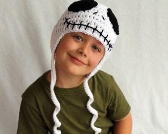 Skeleton Hat - Kid or Adult Sizes - Accessories by Julian Bean