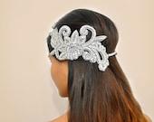 Wedding Hair Accessory: Crystal,  Bridal, Head Piece, Jewels, Rhinestones, Headband