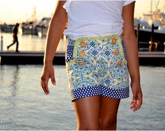 Sailor Shorts: Sailor Shorts PDF Sewing Pattern, Girls Shorts PDF Sewing Pattern, Baby & Toddler Shorts PDF Sewing Pattern