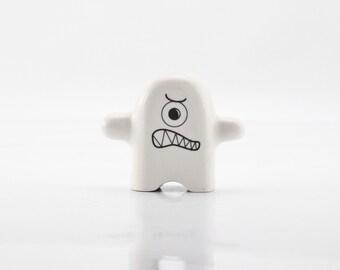 Monster Ceramic Figurine - Porcelain Figurine - Modern Kawaii Figurine