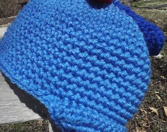 Crocheted Propeller Hat PDF Pattern