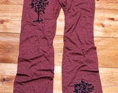 little seedling Tree Long Yoga Pants, Gift for a Yogi, Lounge Pants, S,M,L,XL