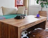 Oversized Jackson Table-Modern Rustic Coffee Table made from Reclaimed Wood and New Orleans Homes