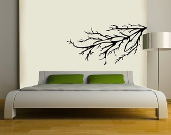 Tree branch vinyl Wall DECAL- interior design, sticker art, room, home and business decor