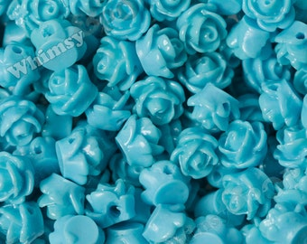 Popular items for sky blue rose on Etsy