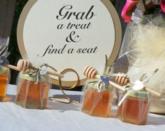 Bridal Shower Party Honey Favors, Wedding, 10 favors
