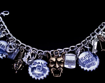 Ultimate Charm Bracelet - Supernatural Creatures -  Paranormal - Fallen Angels - Demons - Vampires - Werewolf - Ghosts - Mythology - Witches