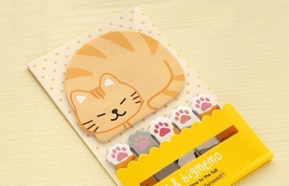 Cat Stick and Big Memo / Sticky Notes