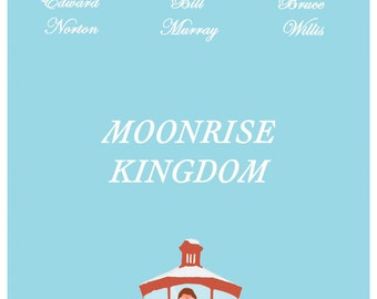 Moonrise Kingdom Poster / Wes Anderson Movie Poster