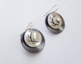 Bird & Branch Earrings