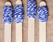 Bakers twine bianco e blu 9m / 9m of Blue and White Bakers Twine